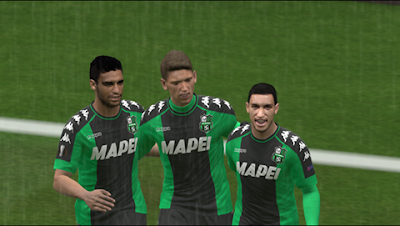 PES 2016, U. S. Sassuolo 4th/Europa League Kit by GgBlues