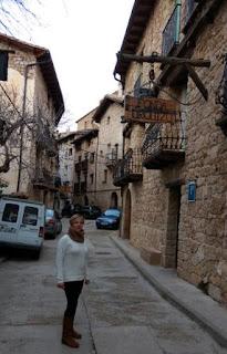 Calle Villanueva de Beceite.