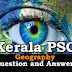 Kerala PSC Geography Question and Answers - 4