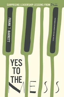 """Yes to the Mess"" book cover"