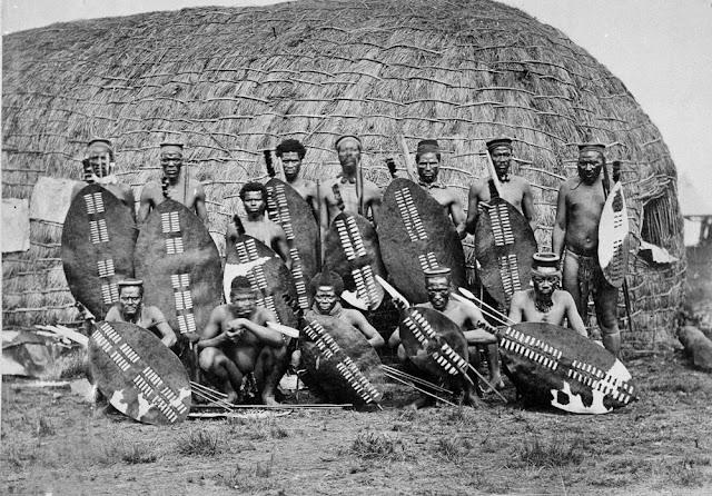 Πολεμιστές Ζουλού, 1879