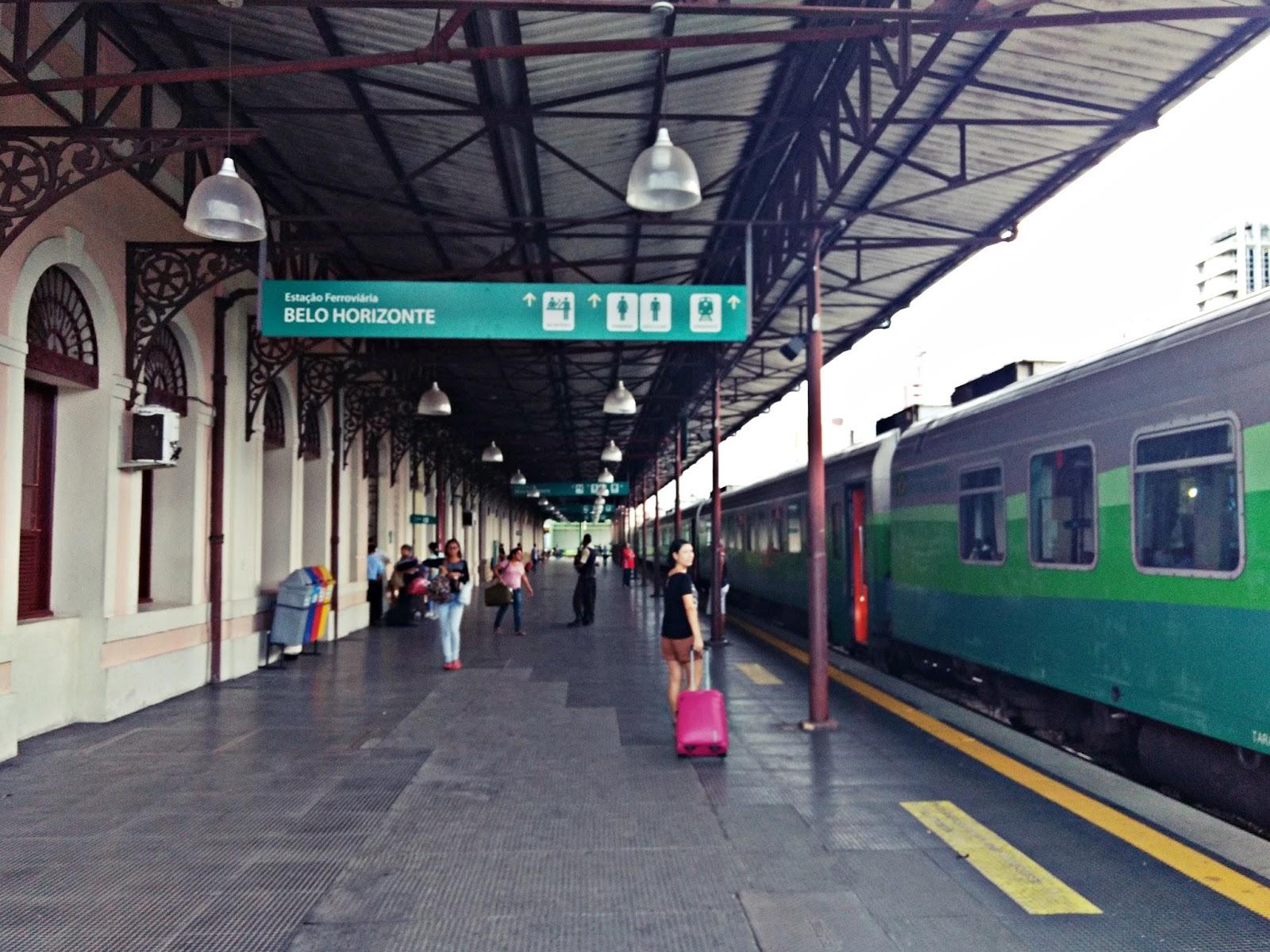 De Belo Horizonte a Vitória de Trem