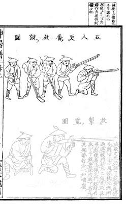 Shen Qi Pu Ming Arquebusier Tactic