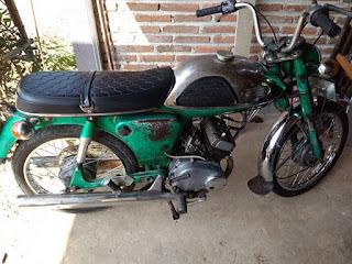 Koleksi Motor Klasik Yamaha YL1 Twin 1963