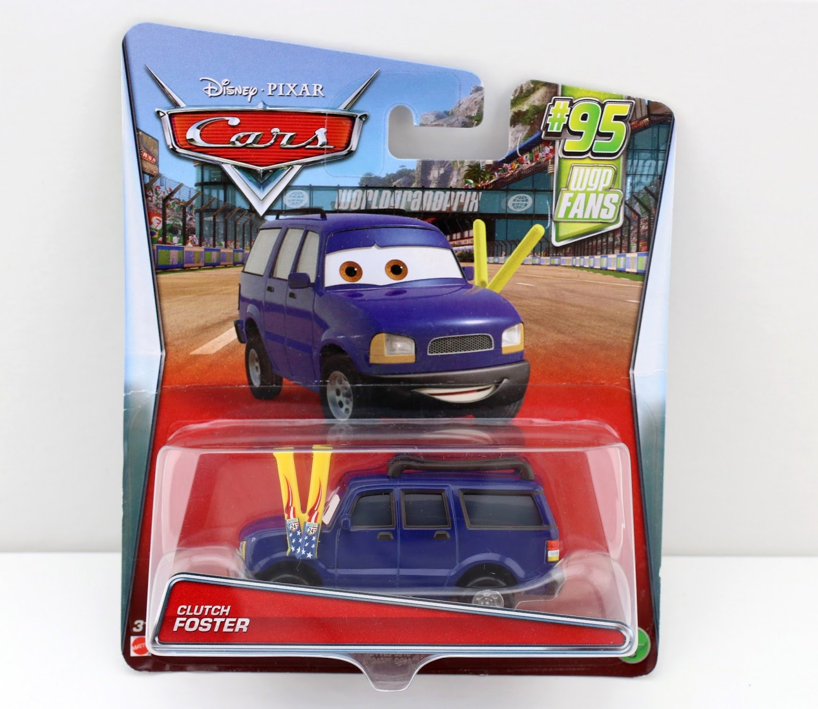 pixar cars mattel clutch foster