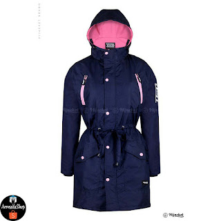 Hijacket Parka Montix Warna Navy Pink Size M fit L XL
