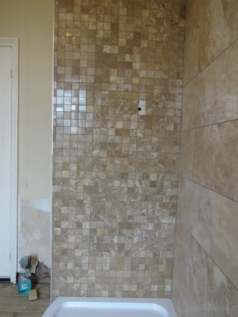 Mosaic Marble Tile Shower