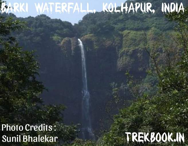 New hot destination, Barki Waterfall, Kolhapur