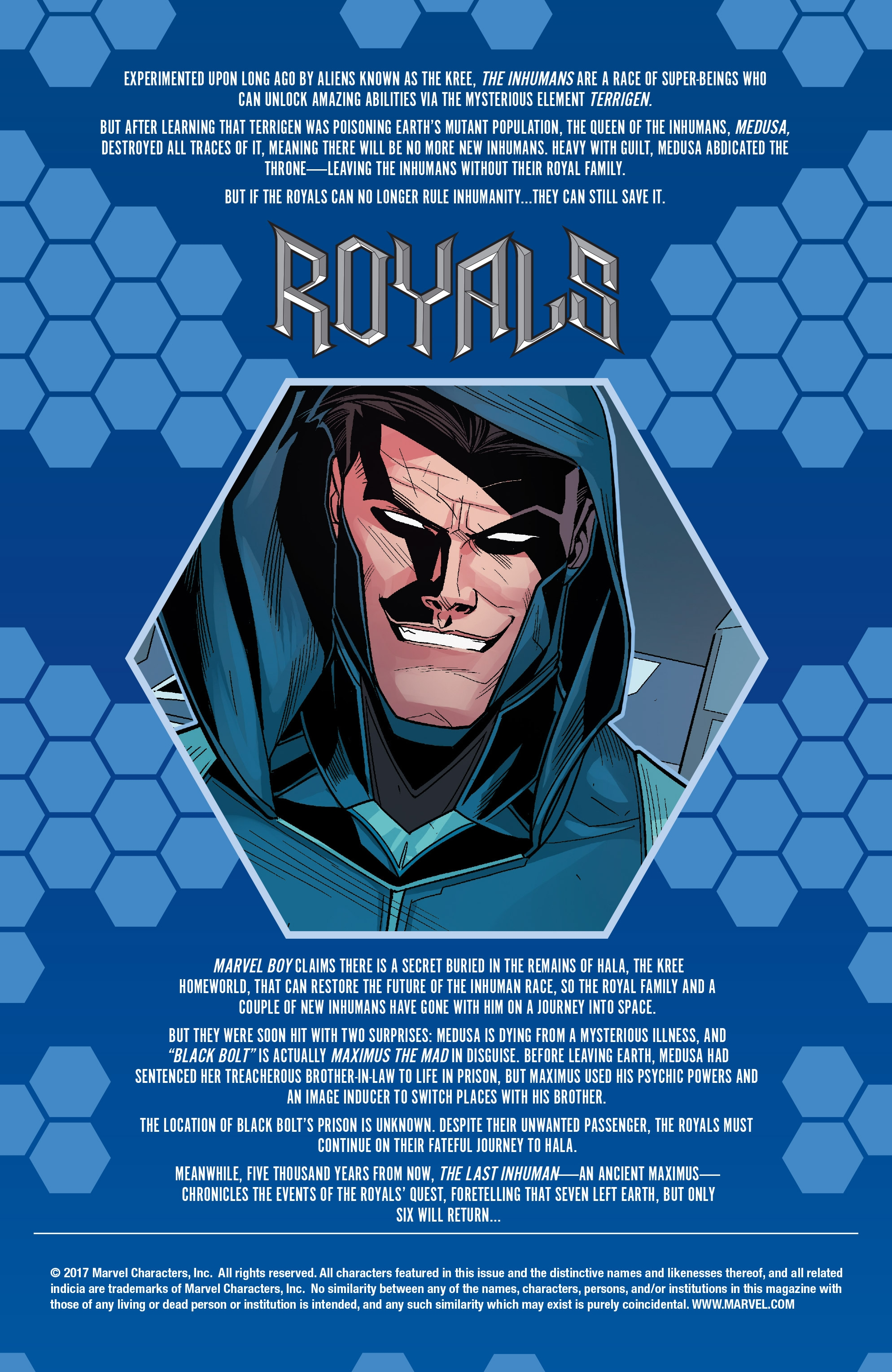 Read online Royals comic -  Issue #4 - 2