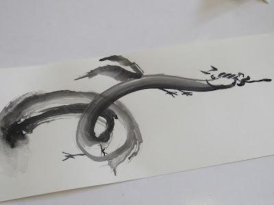 Técnica Sumi-e