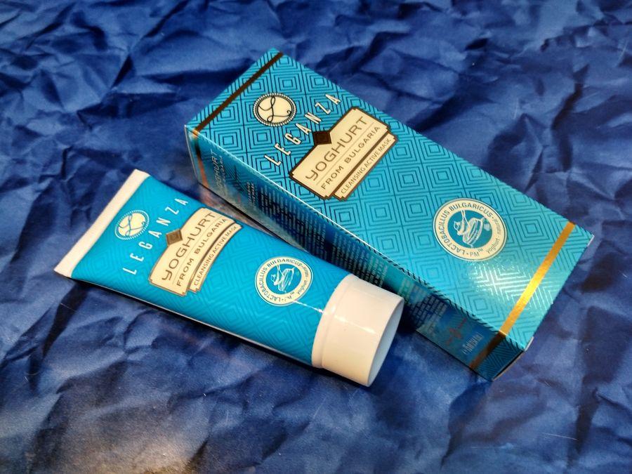 Leganza Yoghurt aktywna maseczka oczyszczająca