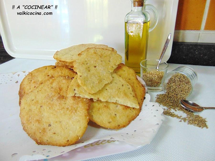 Tortas de aceite Inés Rosales caseras