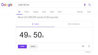 استخدام المؤقت الخاص بمحرك البحث جوجل