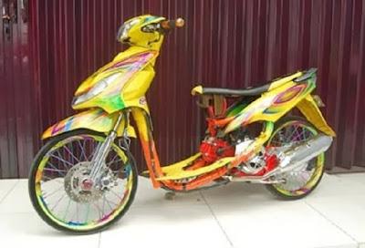 Variasi Motor Yamaha Mio Sporty terbaru