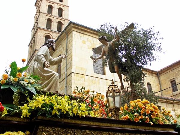 La Oracion del Huerto. Cofradía del Dulce Nombre de Jesús Nazareno. Leon. Foto A. Márquez