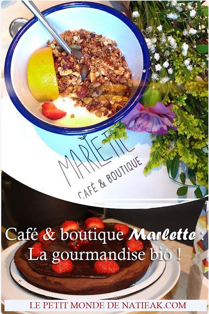 Café Marlette BHV Marais Paris : un concept unique gourmand et bio !