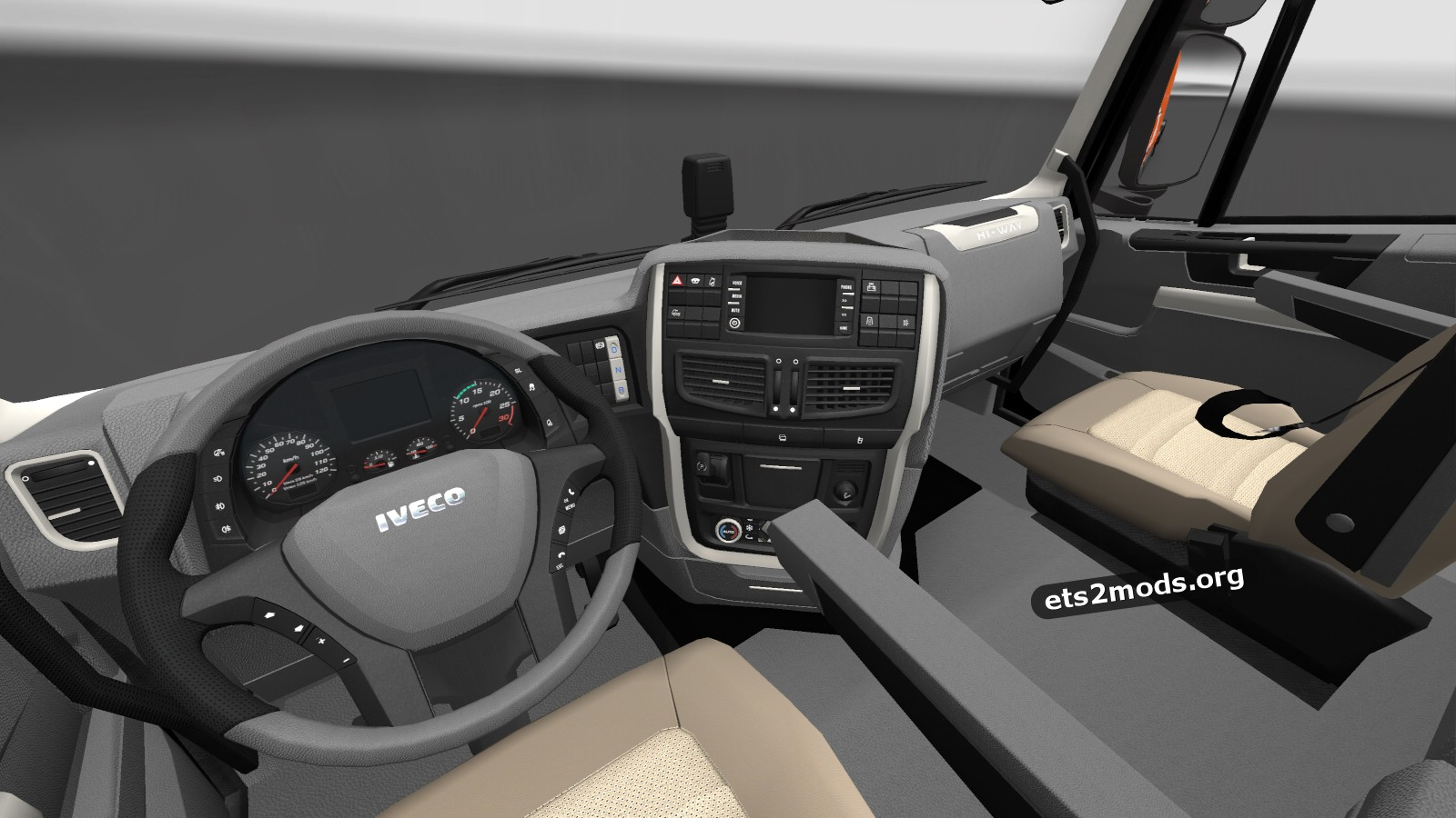 Iveco Hi-Way of the year 2013 skin and interior