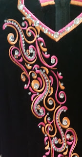 irish dance dress close up 7