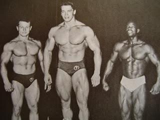 Schwarzenegger en el concurso de Mr. Universo de 1967