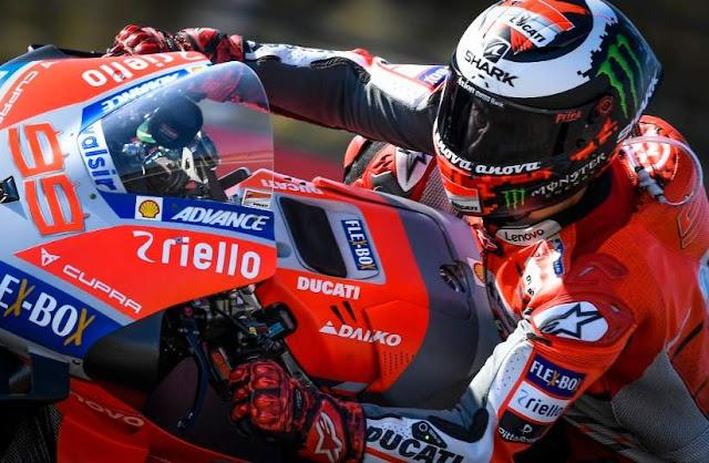 Jorge Lorenzo Pole Position Motogp Aragon 2018