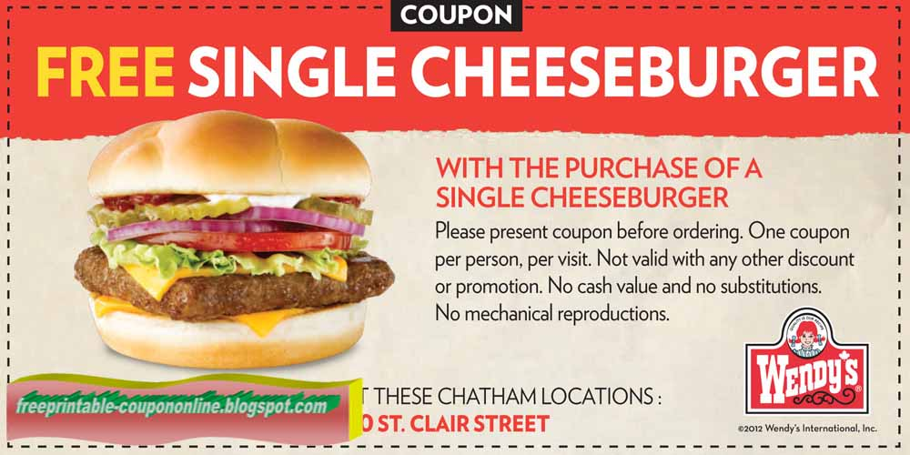 Wendys frosty coupons