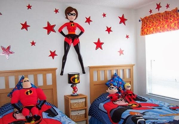 Dormitorio infantil temático