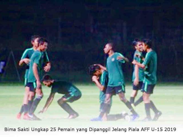 Bima Sakti Ungkap 25 Pemain yang Dipanggil Jelang Piala AFF U-15 2019