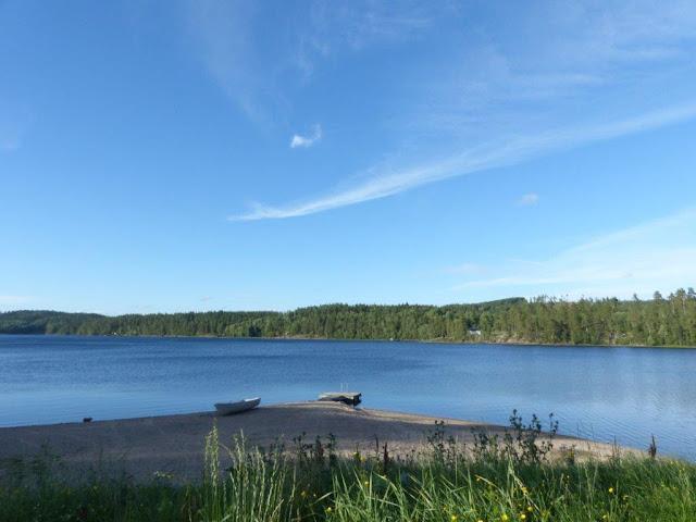 Camping Urlaub Roadtrip mit Hund Schweden Dalsland Tresticklan Nationalpark wandern