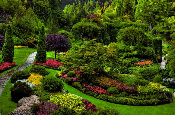 Conheça Butchart Gardens o mais belo jardim do Mundo