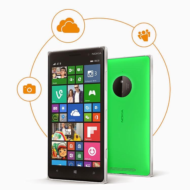 Harga dan Spesifikasi Nokia Lumia 830 Terbaru
