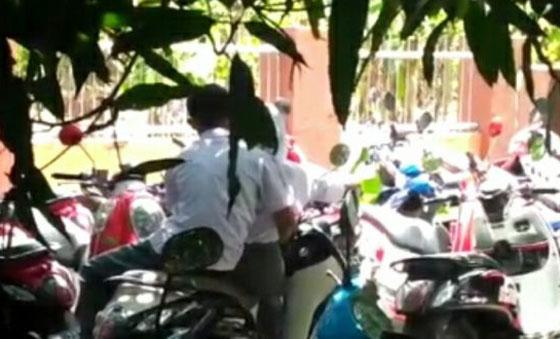 Video Siswa Bermesraan Kepergok Guru di Pinrang Yang Jadi Viral