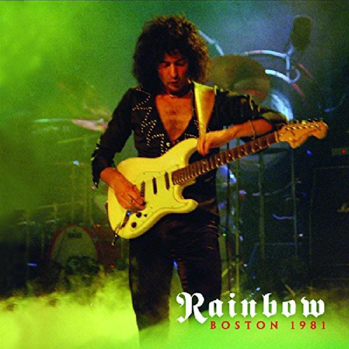 That Devil Music Ritchie Blackmore Amp Rainbow Boston 1981