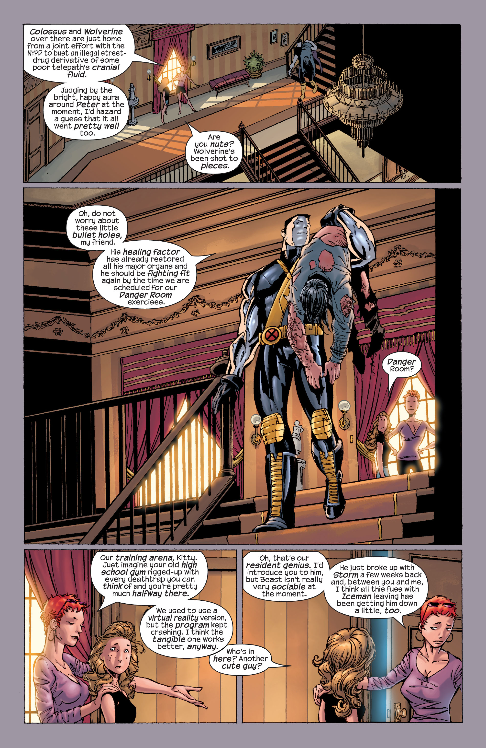 Read online Ultimate X-Men comic -  Issue #21 - 12