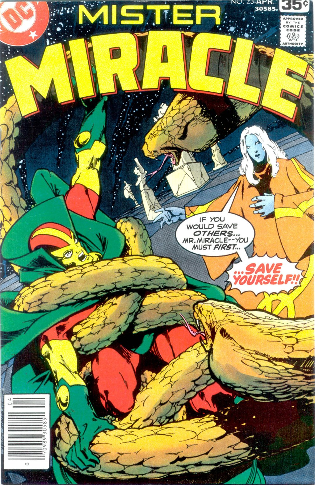Mister Miracle (1971) issue 23 - Page 1