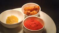 Sausage mustard Paste chilli powder food Recipe
