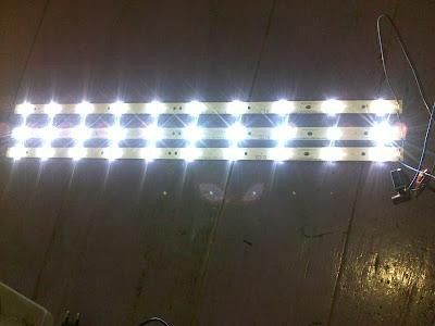 Rangkaian backlight TV Led rakitan