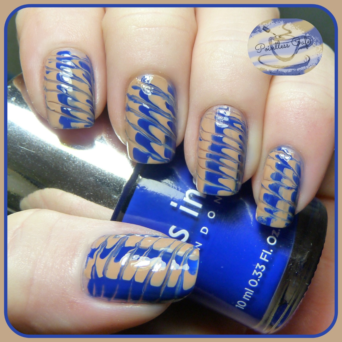 Simple Nail Art Using Toothpick: Another Toothpick Marble