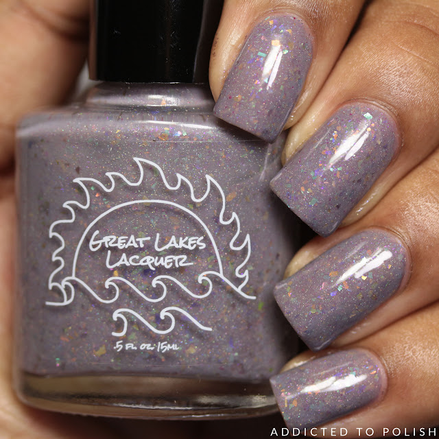 Great Lakes Lacquer Rainbow! Right Here and Now!