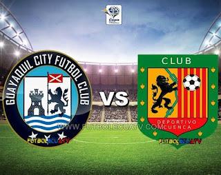 Guayaquil City vs Deportivo Cuenca - Sábado 09 de Diciembre del 2017 - Partido Jornada 22