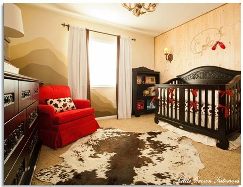 Dormitorio tema vaquitas