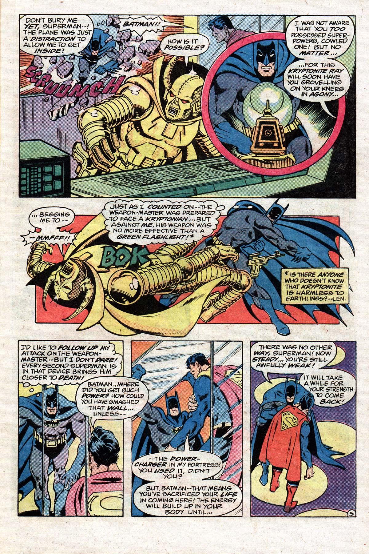 Read online World's Finest Comics comic -  Issue #274 - 7