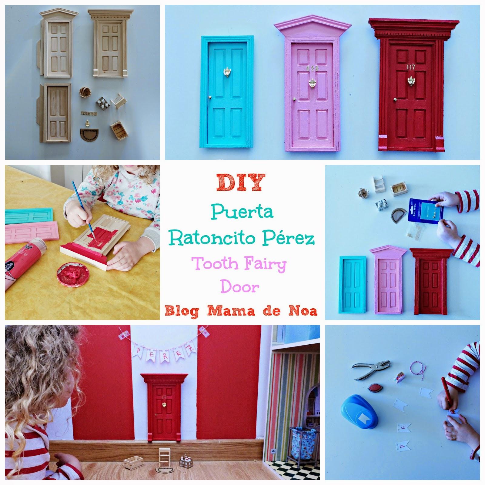 DIY Puerta Ratoncito Pérez - Tooth Fairy Door - Puerta Raton Perez