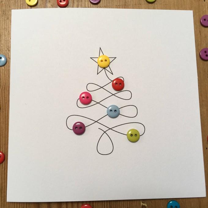 25 cartes de natal feitos mo para copiar