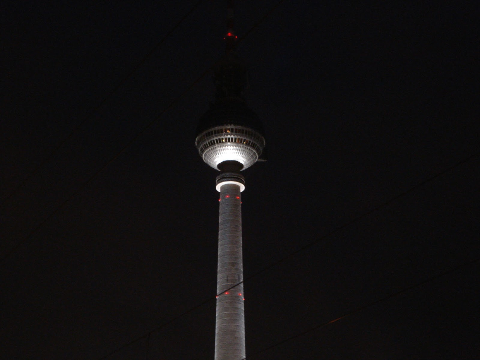 torre de comunicaciones de alexander platz, berlín
