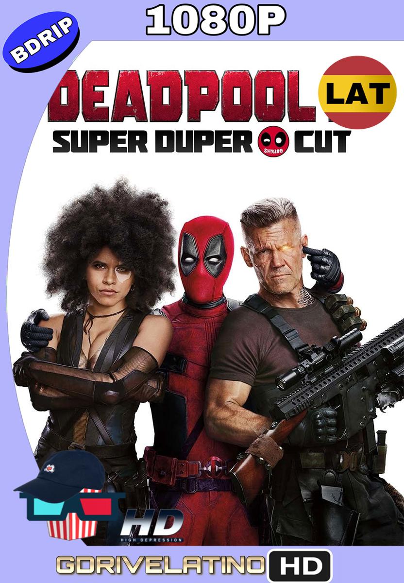 Deadpool 2 (2018) Super Duper Cut BDRip 1080p (Latino-Inglés) MKV