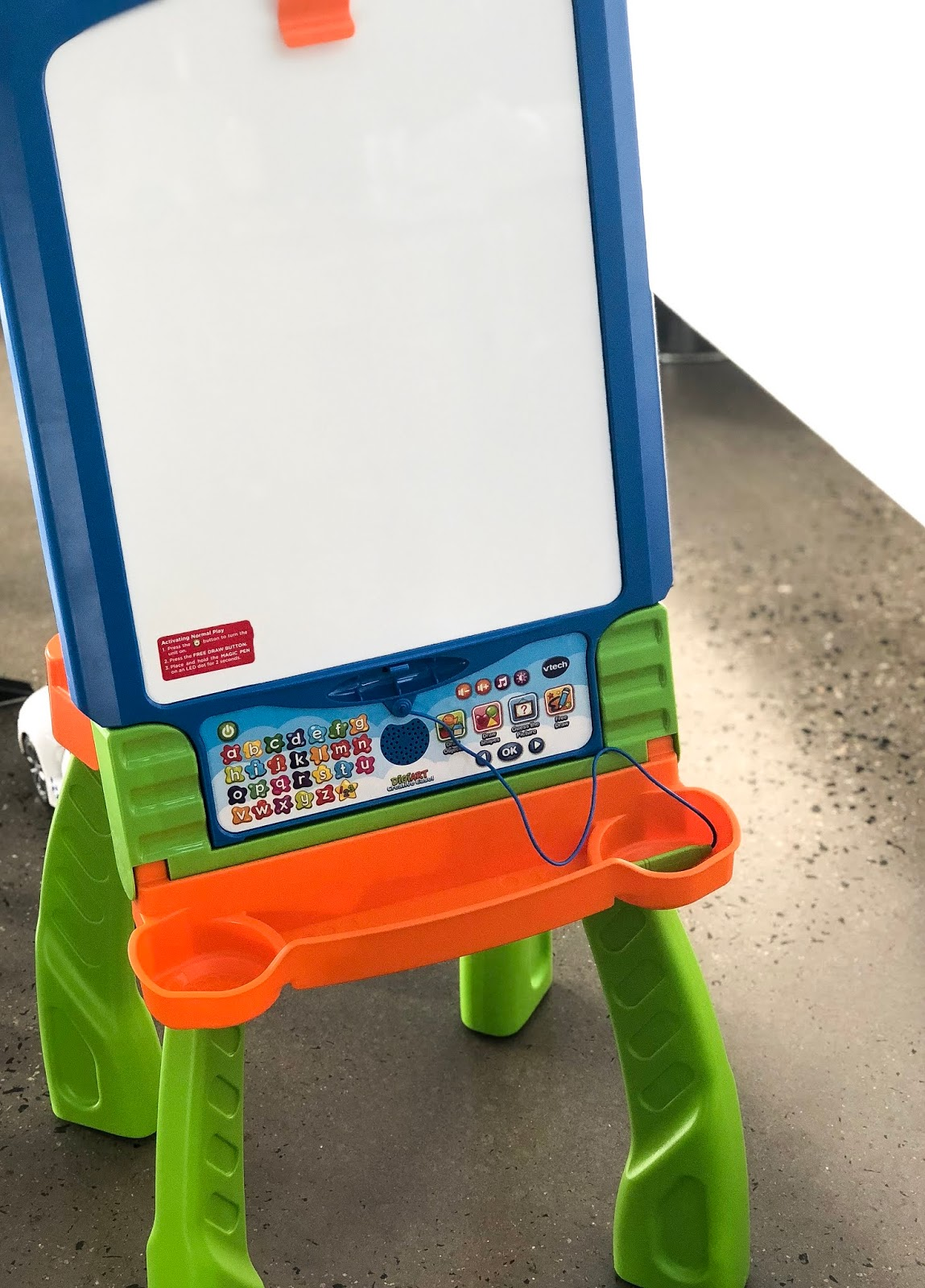 product review vtech digiart creative easel the beauty