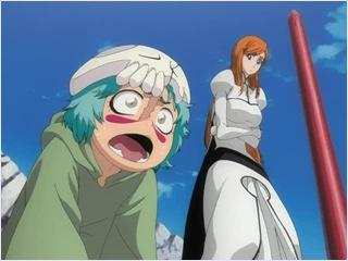 โอริฮิเมะกับเนลดูการต่อสู้ของอิจิโกะ