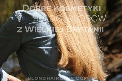 Dobre kosmetyki do włosów z UK - co warto kupić? - czytaj dalej »