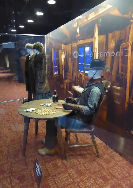 Hateful Eight film costume display