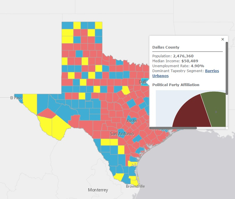 Super Tuesday Election Maps